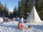 Silvester im Tipi-Zelt - © Viamala Tourismus
