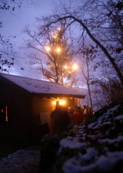 Christbaum auf der Holzfluh - © Holzfluh-Verein Balsthal